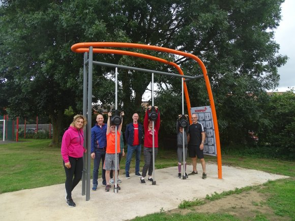 New Fitness Equipment at Poors Meadow